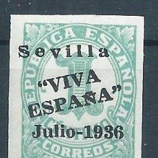 Sellos: R9/ ESPAÑA EN NUEVO*, GUERRA CIVIL, PATRIOTICO. Lote 57090177