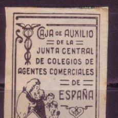 Sellos: BB20- PARAFISCALES CAJA DE AUXILIO AGENTES COMERCIALES 1 PTA. . Lote 57414051