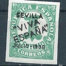 Sellos: R7/ ESPAÑA EN NUEVO*, GUERRA CIVIL, PATRIOTICO. Lote 57645480