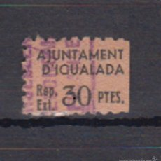 Sellos: IGUALADA (BARCELONA). NO CATALOGADO. Lote 57973877