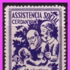 Timbres: TC9-5 CERDANYOLA - ASSISTENCIA SOCIAL FESOFI Nº 2 SIN FIJASELLOS. Lote 58489638