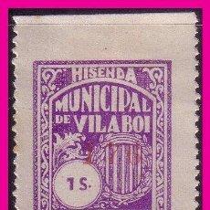 Sellos: BARCELONA VILABOI, GUERRA CIVIL FESOFI Nº 6 *. Lote 60059019