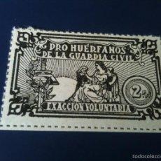 Sellos: PRO HUERFANOS DE LA GUARDIA CIVIL-2 PESETAS. Lote 60264683