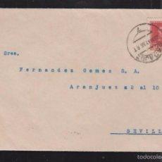 Sellos: 1938.- BADAJOZ A SEVILLA. Lote 61273455