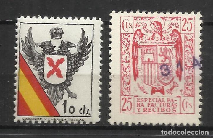 151-SELLO VIÑETA GUERRA CIVIL CARLISTA REQUETE 10 CTS NUEVO ** SPAIN CIVIL WAR (Sellos - España - Guerra Civil - De 1.936 a 1.939 - Nuevos)