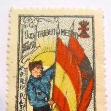 Briefmarken - MAGNIFICO SELLO TRIBUTO MEDICO PRO PATRIA FALANGE ESPAÑOLA RARISIMO, NUEVO - 62615064
