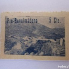 Briefmarken - SELLO BENEFICENCIA PRO BENALMADENA ESCASO 5 CENTIMOS NUEVO - 63143536