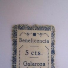 Briefmarken - SELLO BENEFICENCIA GALAROZA 5 CENTIMOS ESCASO NUEVO - 63163628