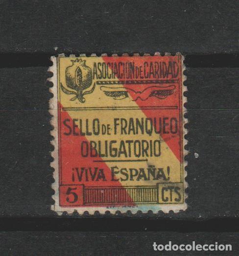 LOTE T SELLOS VIÑETA ANTIGUA GUERRA CIVIL (Sellos - España - Guerra Civil - Viñetas - Usados)