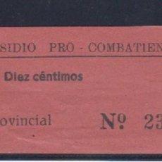 Sellos: SUBSIDIO PRO COMBATIENTES. NO CATALOGADO.. Lote 63297132