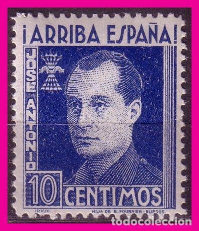 1938 JOSÉ ANTONIO PRIMO DE RIVERA, GÁLVEZ Nº 36 * * (Sellos - España - Guerra Civil - De 1.936 a 1.939 - Nuevos)