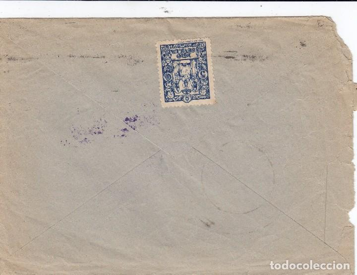 Sellos: 0002 SOBRE CIRCULADO SEVILLA VALENCINA CENSURA MILITAR - Foto 2 - 66242818