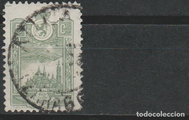 LOTE B-SELLOS VIÑETA GUERRA CIVIL PRO AVION (Sellos - España - Guerra Civil - Viñetas - Usados)