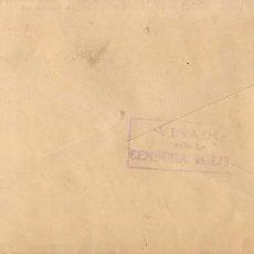 Sellos: MURCI. CENSURA BRIGADAS INTERNACIONALES. 1937.. Lote 67861401