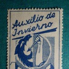 Sellos: SELLO - BENEFICENCIA - AUXILIO DE INVIERNO - 10 CTS. Lote 68959053