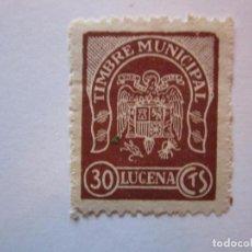 Briefmarken - SELLO TIMBRE MUNICIPAL LUCENA NUEVO - 69766457