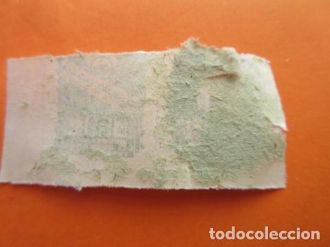 Sellos: HUERFANOS DEL CUERPO DE TELEGRAFOS - 10 CENTIMOS USADO DOBLE - Foto 2 - 70447917