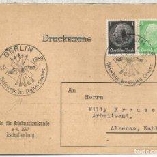 Sellos: GUERRA CIVIL MAT BERLIN 6-6-1939 RETORNO DE LA LEGION CONDOR A ALEMANIA . Lote 71185585