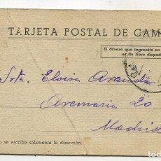 Sellos: TARJETA POSTAL DE CAMPAÑA REPLUBLICA ESPAÑOLA. CIRCULADA. Lote 71312955