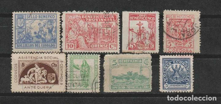 LOTE B2 SELLOS VIÑETAS GUERRA CIVIL (Sellos - España - Guerra Civil - Viñetas - Usados)