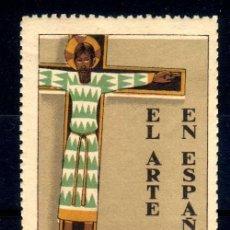 Sellos: VIÑETA EXPOSICION INTERNACIONAL BARCELONA 1929 - EL ARTE EN ESPAÑA - NUEVO**. Lote 76285307