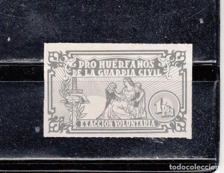 PRO-HUÉRFANOS DE LA GUARDIA CIVIL. 1 PTA. (Sellos - España - Guerra Civil - Viñetas - Nuevos)