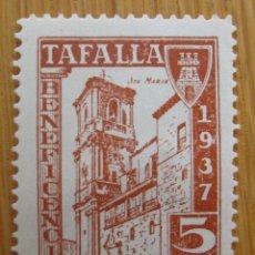 Sellos: TAFALLA , 5 CENTIMOS CASTAÑO . NUEVO *. Lote 78302317