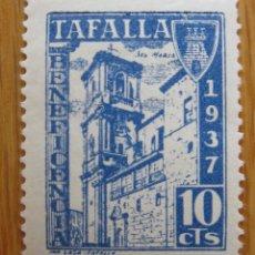 Sellos: TAFALLA , 10 CENTIMOS AZUL . NUEVO *. Lote 78302593
