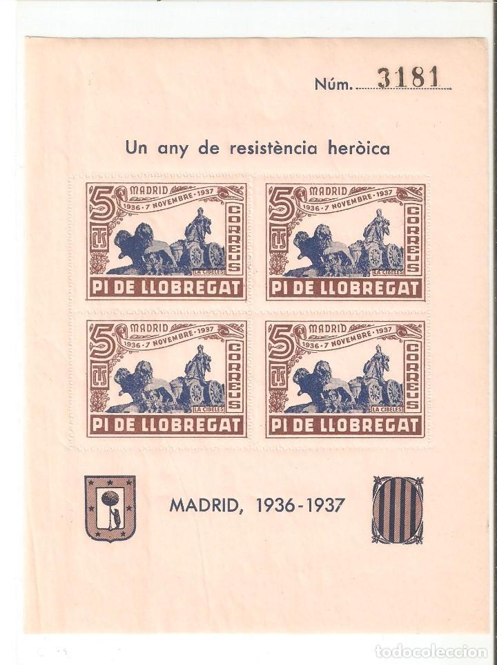 HOJITA 1936-1937 (Sellos - España - Guerra Civil - De 1.936 a 1.939 - Nuevos)