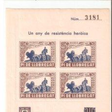Sellos: HOJITA 1936-1937. Lote 78302913