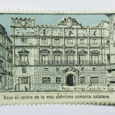 Sellos: REUS (TARRAGONA. PRECIOSA VIÑETA DE LA -ANTIGA CASA DE LA VILA-. LOTE 0020. Lote 79688481
