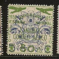 Sellos: CANARIAS 31/33* SERIE COMPLETA 1937 NL1229. Lote 80461949