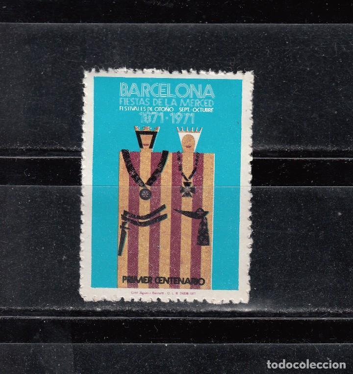 BARCELONA. FIESTAS DE LA MERCED (Sellos - España - Guerra Civil - Viñetas - Nuevos)
