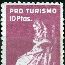 Sellos: PRO TURISMO. 10 PTAS. MALLORCA ,VIÑETA **.MNH (17-632). Lote 82727316