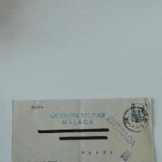 Sellos: CENSURA MILITAR MÁLAGA. Lote 82883724