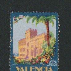 Sellos: VIÑETA.VALENCIA SOBERANA DE LA NATURALEZA.FOMENTO DEL TURISMO.AÑOS 30S-40S.. Lote 84646928