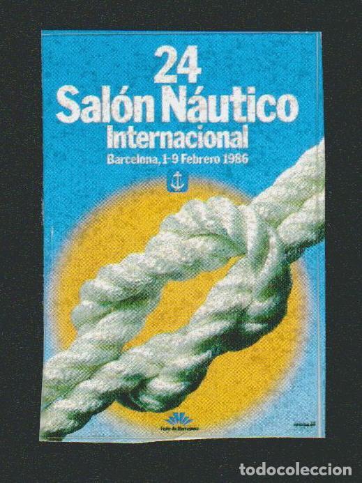VIÑETA.SALÓN NÁUTICO INTERNACIONAL .BARCELONA.AÑO 1986. (Sellos - España - Guerra Civil - Viñetas - Nuevos)