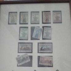Sellos: 16 SELLOS CONMEMORACION DESCUBRIMIENTO AMÉRICA 1930 ESPAÑA PRIMER CENTENARIO. Lote 84860808