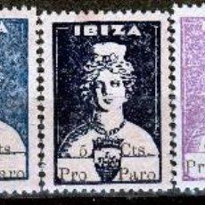Sellos: IBIZA. DIOSA TANIT . PRO PARO.SELLOS LOCALES.GUERRA CIVIL-. **,MNH.(17-676). Lote 84924964