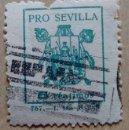 Sellos: PRO SEVILLA 5 CTS. Lote 85965384