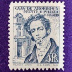 Sellos: VIÑETA SIN USAR. CAJA DE AHORROS Y MONTE DE PIEDAD DE MADRID. 1 PTS. FOURNIER. VIÑETAS-SELLO-SELLOS. Lote 86643672