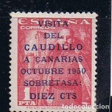 Sellos: 1083B VISITA CAUDILLO A CANARIAS SIN CHARNELA. Lote 87194244