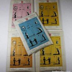 Sellos: 5 HOJAS AMIGOS DE LA VIÑETA ANTITUBERCULOSA VENDRELL 1960 ESPAÑOL-ESPERANTO,VER DESCRIPCION VIÑETAS. Lote 87418140