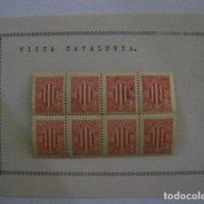 Sellos: VIÑETAS VISCA CATALUNYA - VER FOTOS -(V-11.598). Lote 89669956