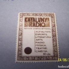 Sellos: SEGELLS CATALUNYA, CATALUNYA RADIO. Lote 89752892