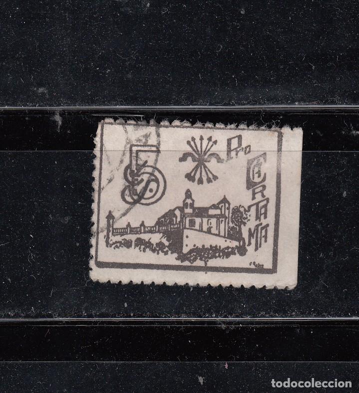 PRO-CARTAMA. 5 CTS. (Sellos - España - Guerra Civil - Locales - Usados)