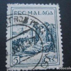 Briefmarken - SELLO PRO MALAGA 5 CTS. - 93099960