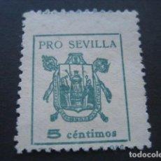 Sellos: SELLO PRO SEVILLA 5 CTS.. Lote 93100125
