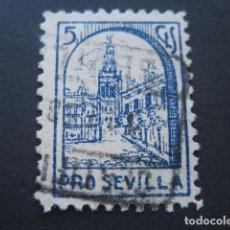 Sellos: SELLO PRO SEVILLA 5 CTS.. Lote 93100180