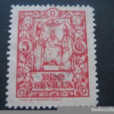 Sellos: SELLO PRO SEVILLA 5 CTS.. Lote 93100215